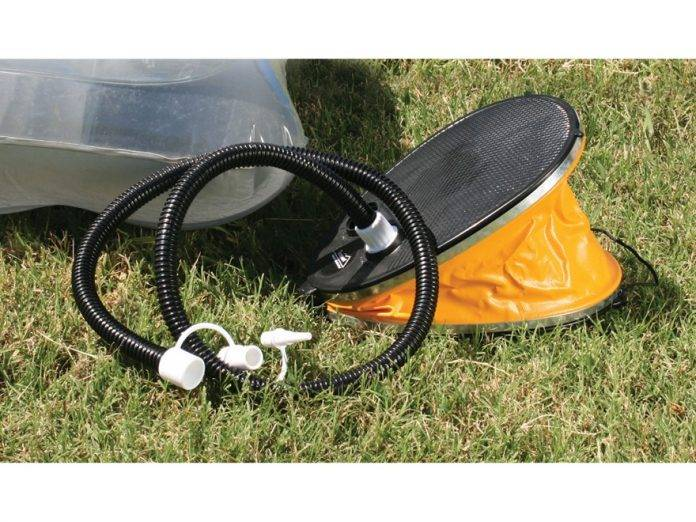 Air mattress pumps