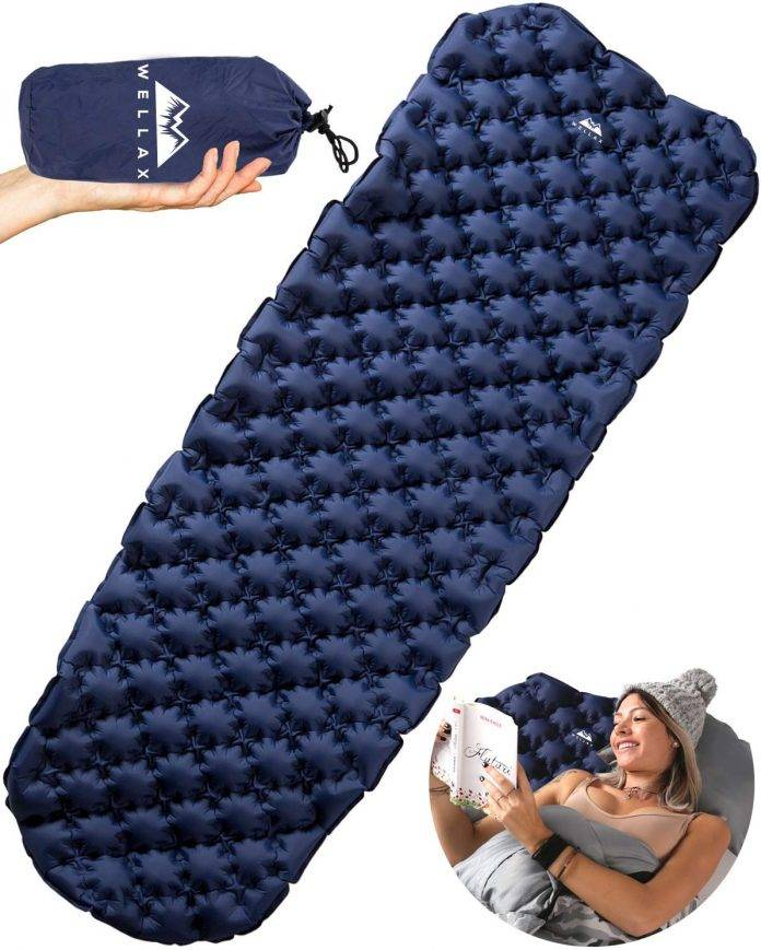 WELLAX Ultralight Air Sleeping Pad Review - Inflatable Camping Mat for Backpacking