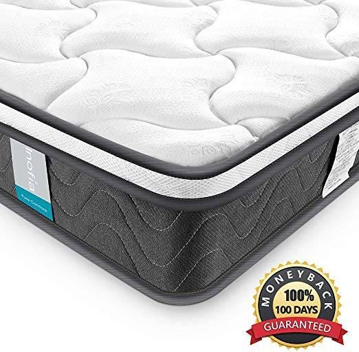 Inofia Sleeping Twin XL Mattress Super Comfort Hybrid Innerspring Review