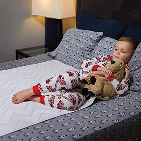 MIGHTY MONKEY Slip-Resistant Mattress Pad – Best For the kids