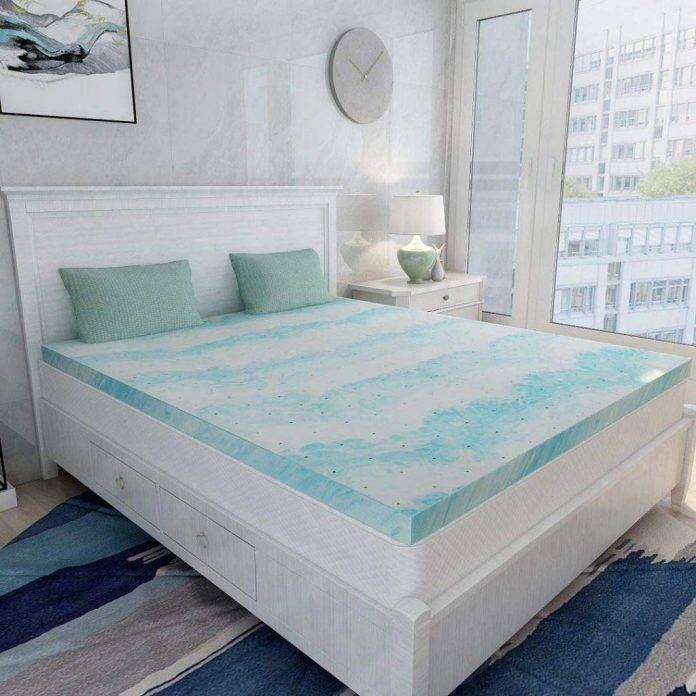 Mattress Topper King Gel Memory Foam for King Size Bed Review
