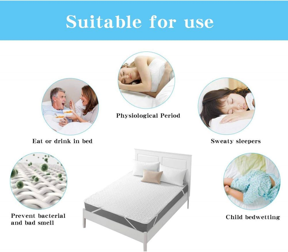 Vanansa King Waterproof Mattress Protector