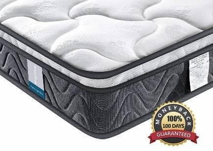 Inofia Sleeping Twin XL Mattress Super Comfort Hybrid Innerspring