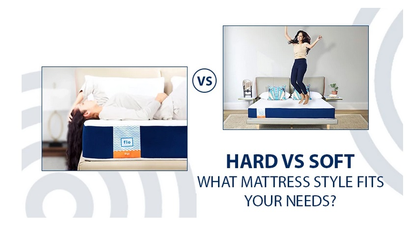better to sleep on a hard or soft mattress