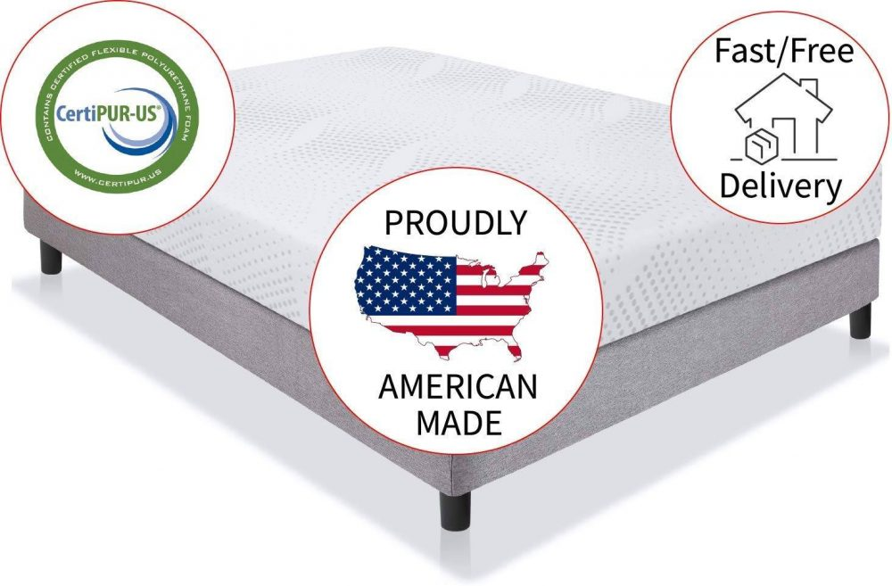American Mattress Company Graphite Infused Memory Foam