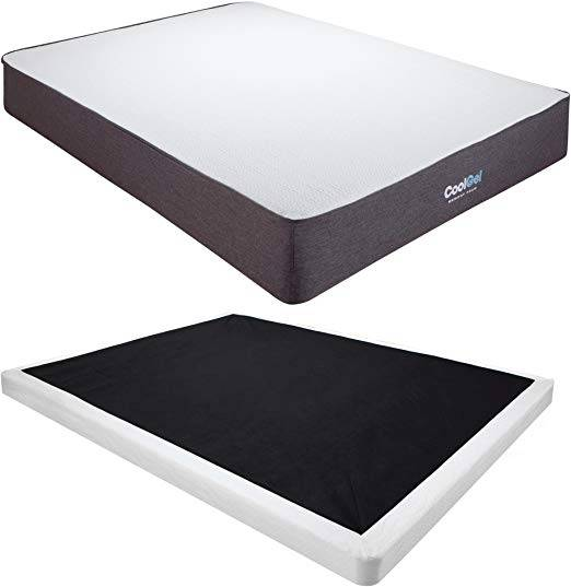 "Classic Brands Gel Ventilated Memory Foam Mattress 10"" - Durable and comfortable"