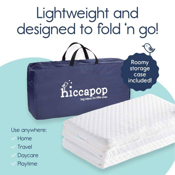 Hiccapop Tri fold Pack n Play Mattress Pad