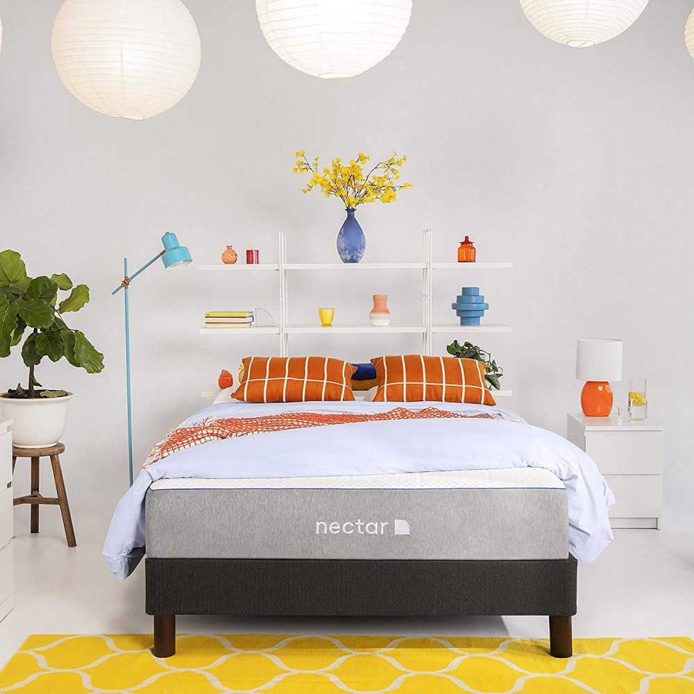 Nectar TwinXL Mattress + 2 Pillows Included
