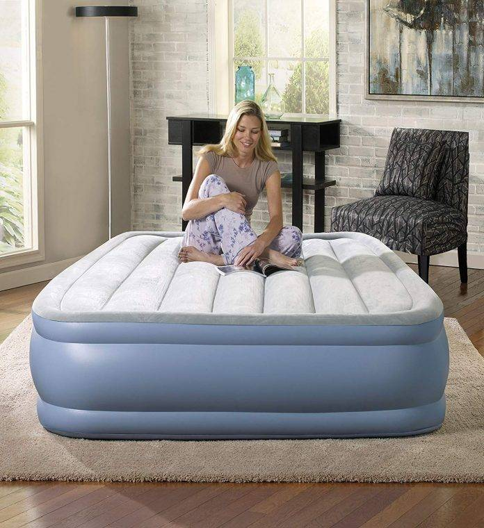 Simmons Beautyrest Hi-Loft Inflatable Air Mattress