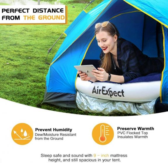 AirExpect Leak Proof Inflatable Mattress