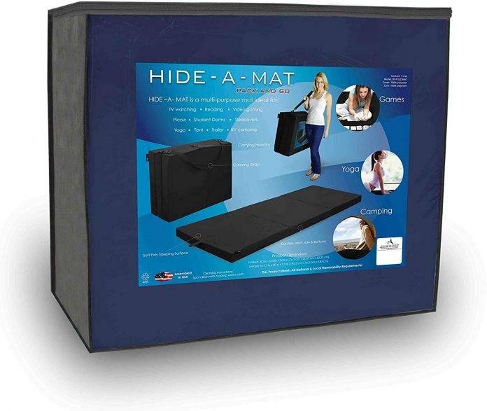 American Furniture Alliance Hide Twin TriFold Mattress