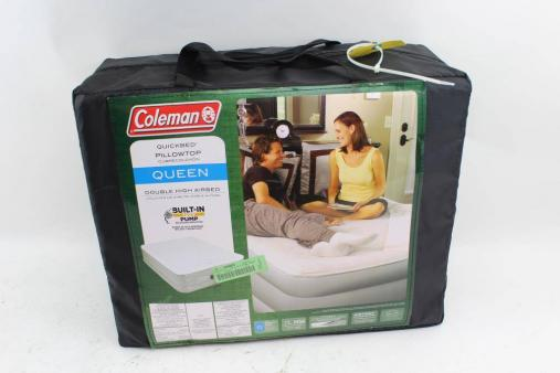 Coleman air mattress double-high support rest air bed Review