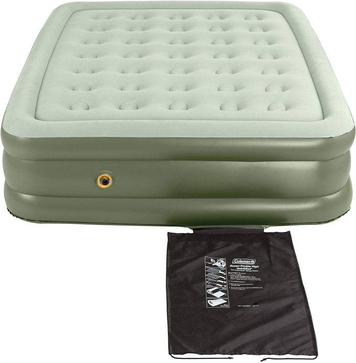 Coleman air mattress double-high supportrest air bed Review