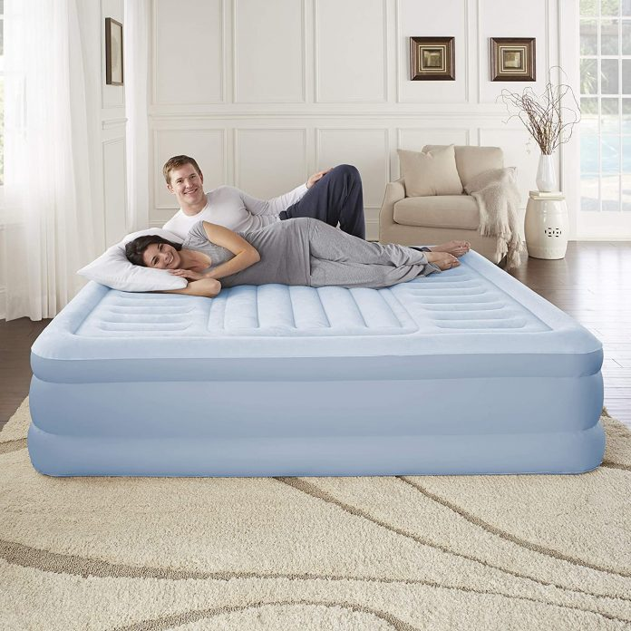Simmons Beautyrest Lumbar Supreme Adjustable Tri-Zone Support Air Bed Mattress