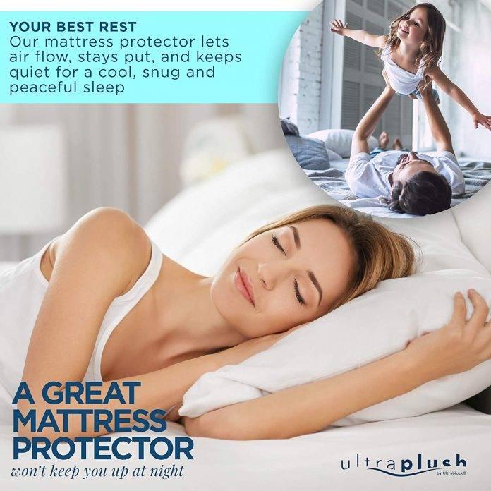 Ultra Plush 100% Waterproof Premium Mattress Protector