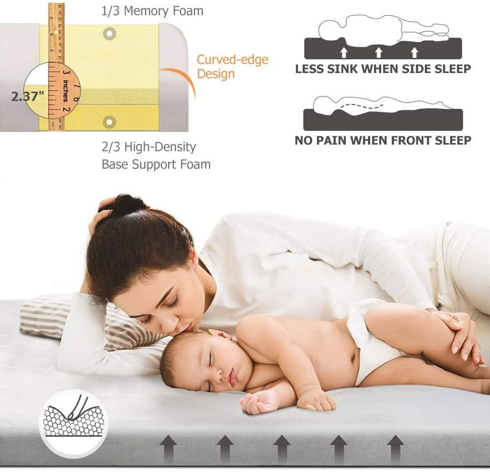 WillpoCertipur-US Memory Foam Camping Mattress