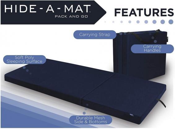 American Furniture Alliance Trifold Mattress