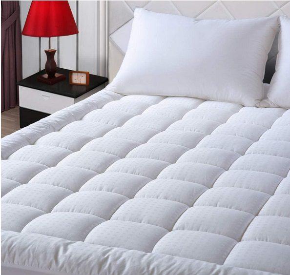 EASELAND King Size Mattress Pad Pillow Top Mattress Cover