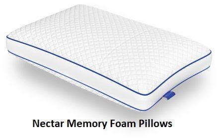 Nectar Memory Foam Pillows