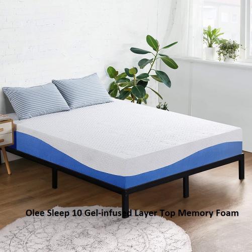 Olee Sleep 10 Gel-infused Layer Top Memory Foam