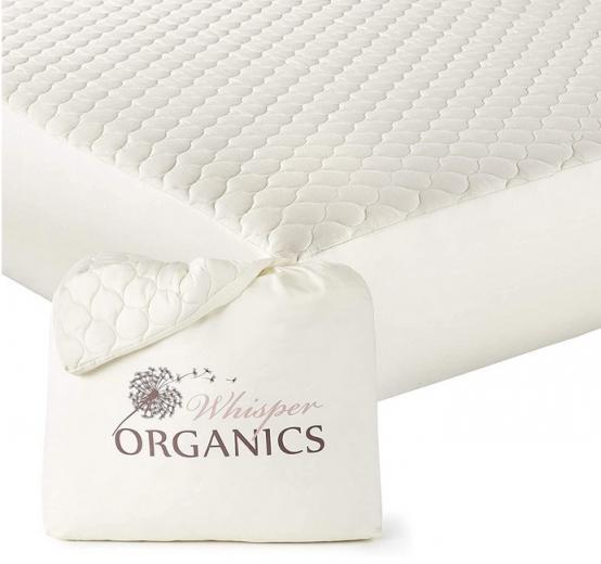 Whisper Organics, 100% Organic Mattress Protector