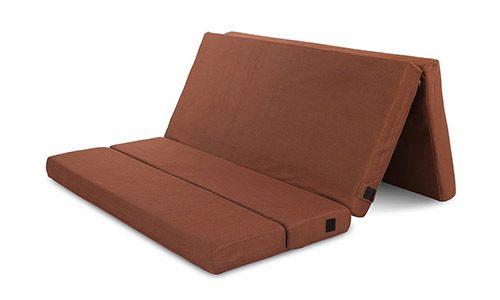 Cr Sleep 4-inch Folding Mattress