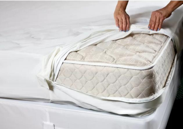 Hospitology products sleep defense system - Zippered Mattress