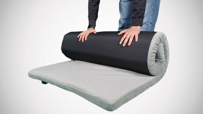 Rolled and Vacuum-Packed Mattresses