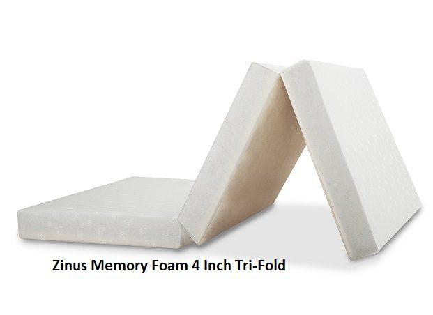 Zinus Memory Foam 4 Inch Tri-Fold