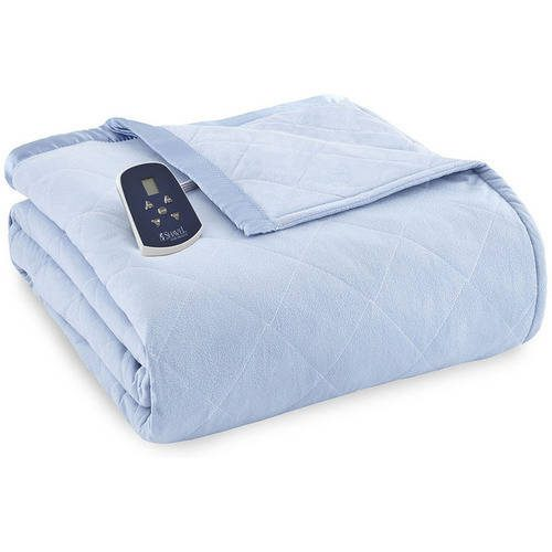 Micro Flannel Reverse To Sherpa Electric Heated Blanket