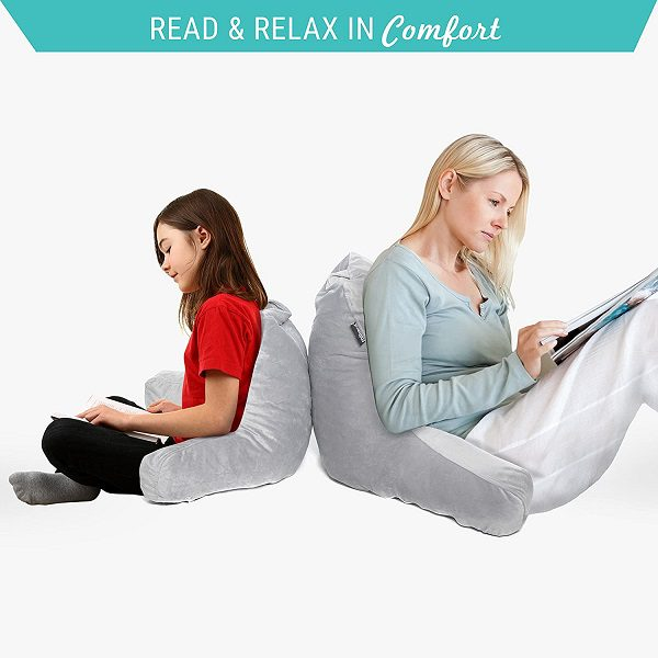 Milliard Reading Pillow with Shredded Memory Foam