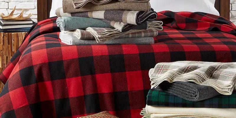 Pendleton Eco-Wise Easy Care Wool Blanket
