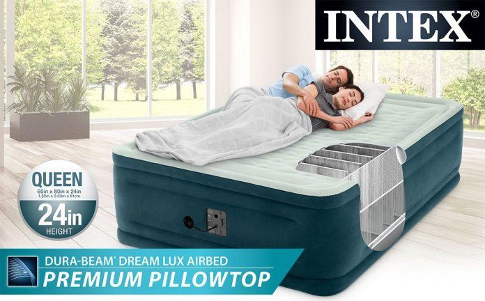 Intex Pillow Top Air Mattress